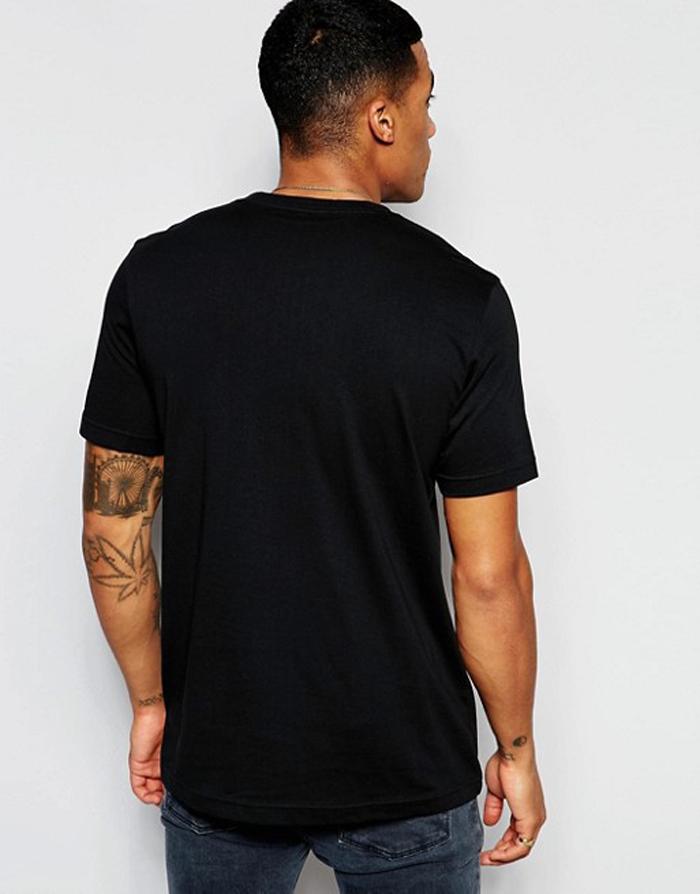 a178ec06f15c Adidas Originals Rayures Trefoil T-Shirt Haut pour Homme Neuf Blanc ...
