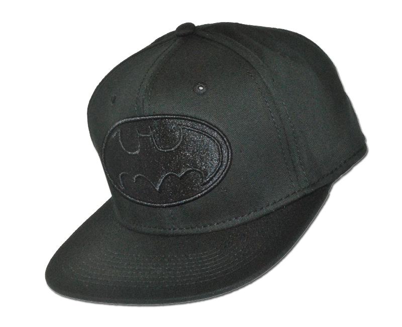 batman snapback casquette casquette licence gotham city noir all black dc comics. Black Bedroom Furniture Sets. Home Design Ideas