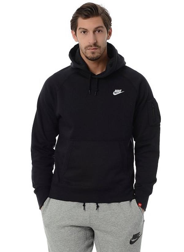 91e93926946ac Nike Air Logo Swoosh Sudadera Jersey con Capucha Sweater Nuevo
